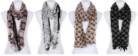 RubyImports-viscose(rayon)scarves