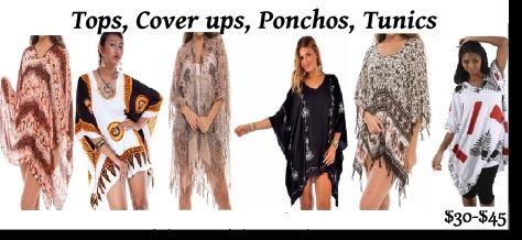 tops and ponchos PRICE